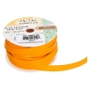 Flat Leather 10x2mm (5m Spool) Yellow